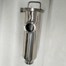 19/25/32/38/51 millimetri Sanitari Angolo Filtro Tri Morsetto In Acciaio Inox Filtro SS304 Cibo filtri di grado