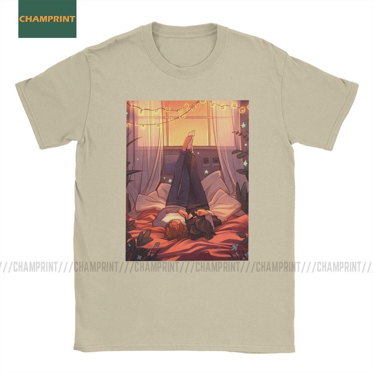 Home Is anywhere Im With You Killing Stalking camisetas de algodón para hombres KS Yoonbum Sangwoo camiseta de Corea camisa de manga corta 6XL