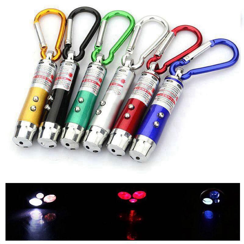 3 в 1 красная лазерная ручка 1 мВт 650 нм Непрерывная волна мини светодиодный светильник-вспышка светильник-луч указка обучающая лазерная ручка для тренировки кошек