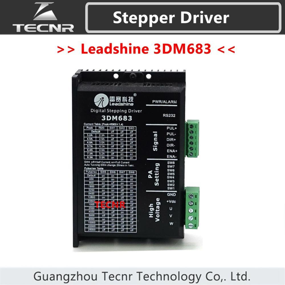 Original Leadshine 3DM683 paso a paso conductor VDC20-60V 3 Fase Nema23 Nema34 Motor paso a paso
