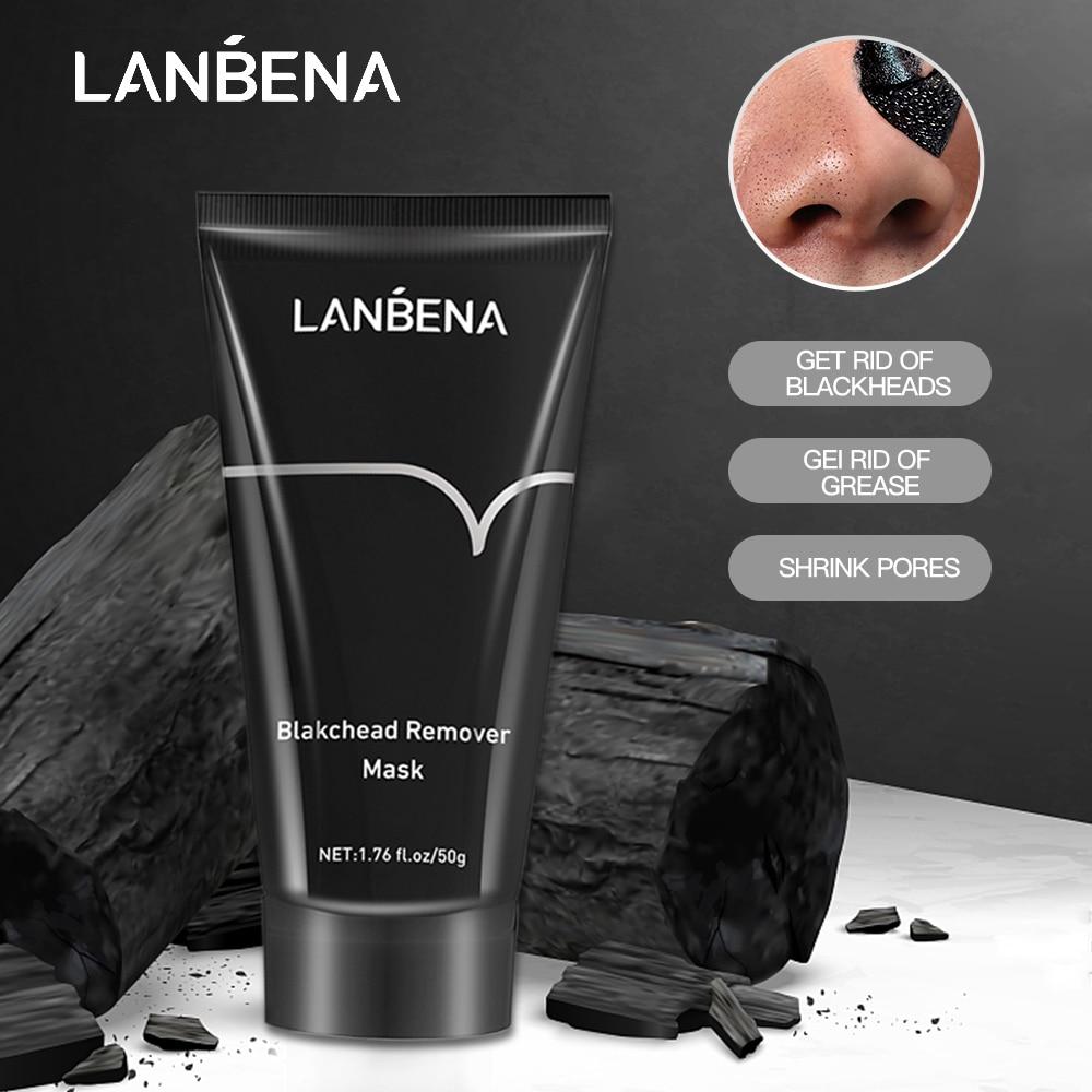 Korea Blackhead Remover Nose Black Mask Face Care Mud Acne Treatment Peel Off Mask Pore Strip Peel M