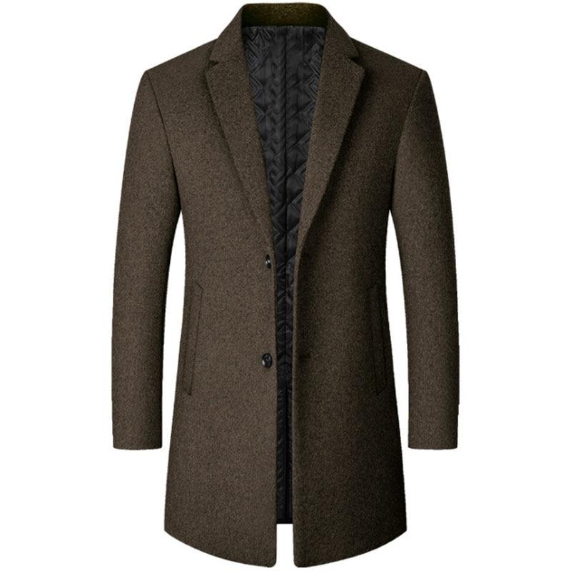 Мужские пальто, мужская зимняя куртка, мужское пальто, пальто для мужчин, мужское зимнее пальто, зимнее шерстяное пальто для мужчин, мужское ...