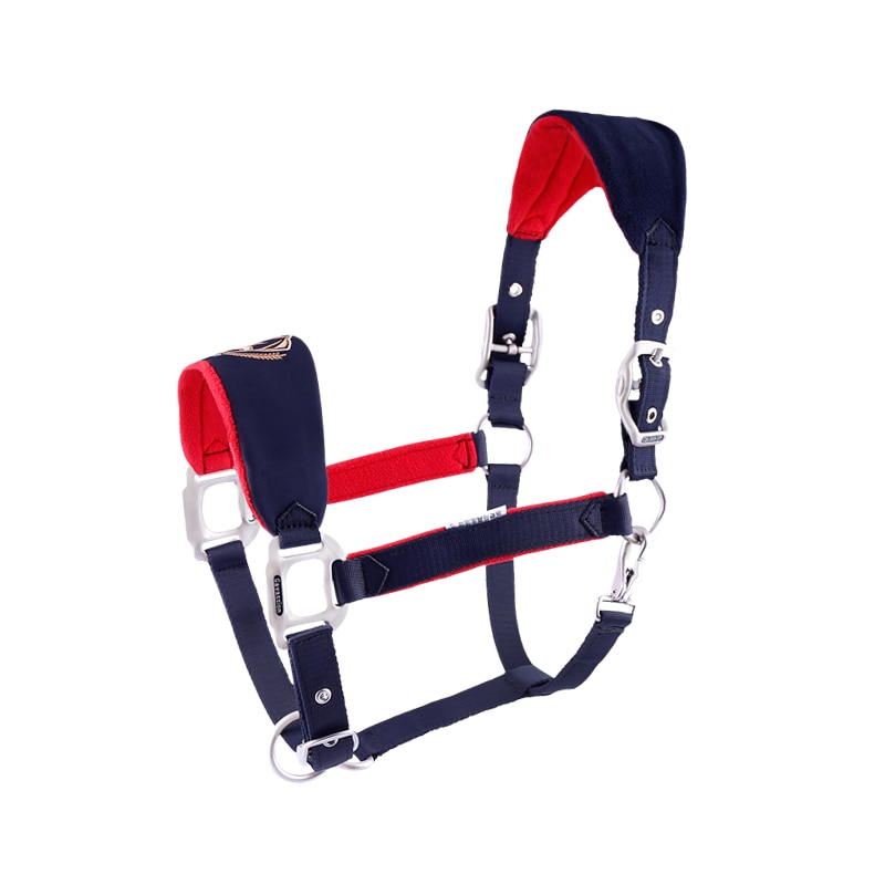 Cavassion Bridle Anti-wear bridle Adjustable Horse Halter High-quality metal parts Equestrian Equipment Ho