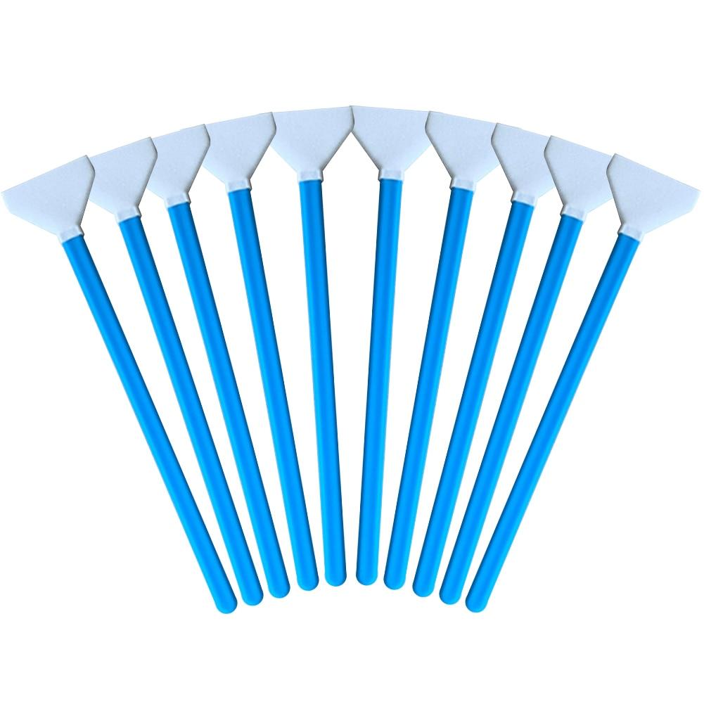 10 Uds suave conveniente completa limpieza Kit de bastoncillos de algodón DSLR Cámara Sensor hogar foto estudio profesional de tela de fibra de Universal