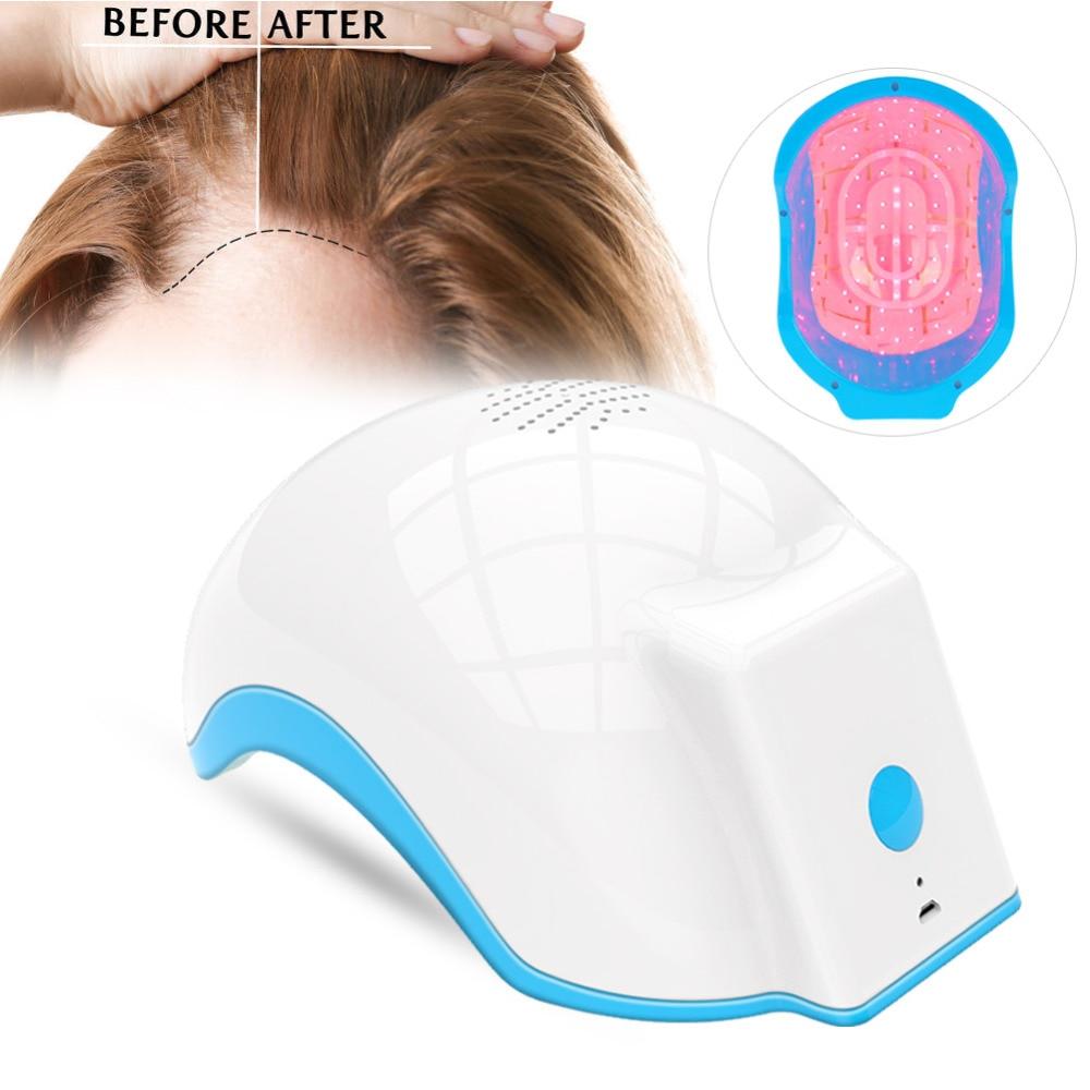 LLLT Hair Fast Regrowth Laser Cap Hair Regrow Laser Helmet Diodes Treatment Device