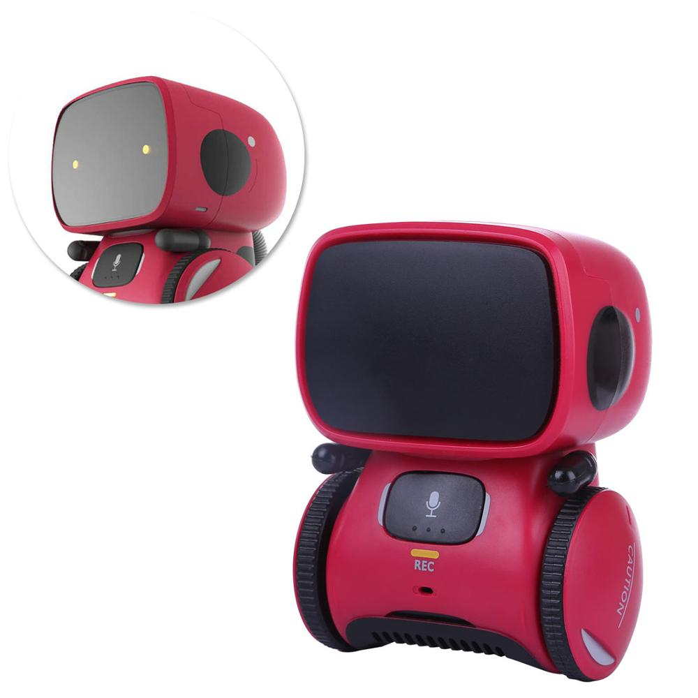 Intelligent Robots for Kids Dance Music Recording Dialogue Touch-Sensitive Control Interactive Toy Smart Robotic for Kids enlarge