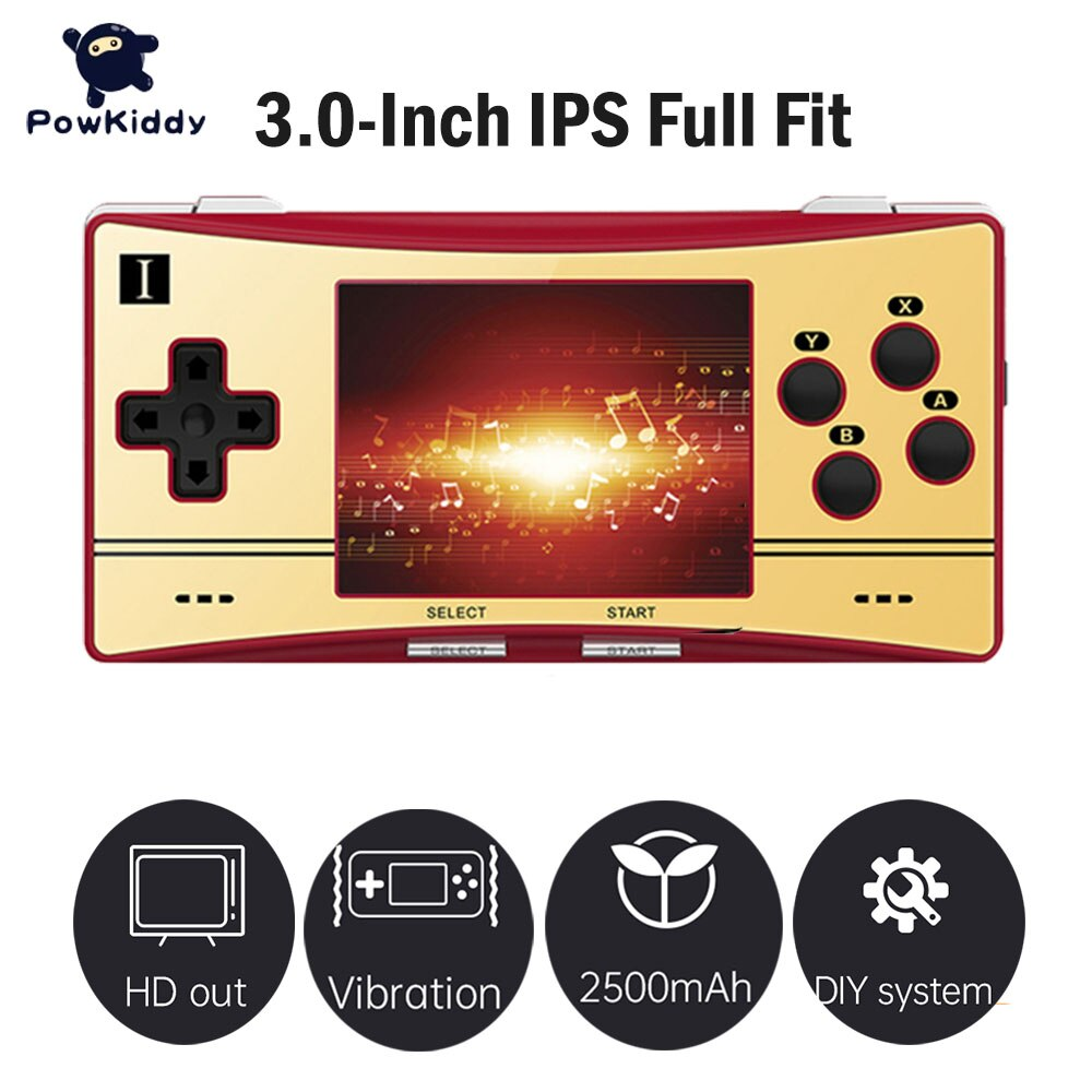 Powkiddy RG300X Retro Game Console 3.0Inch IPS Screen Video Game Player Support HD Out-put For Kids Gift игровая приставка