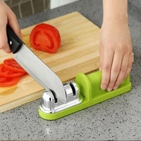professional knife sharpener handheld suction cup type multifunctional steel kitchen knives sharpening tool kitchen accessories