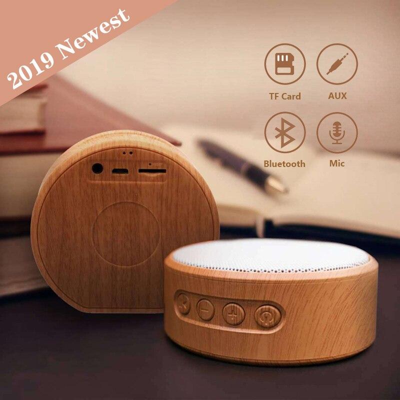 Mini Altavoz De madera con Bluetooth, caja De música portátil con Subwoofer,...