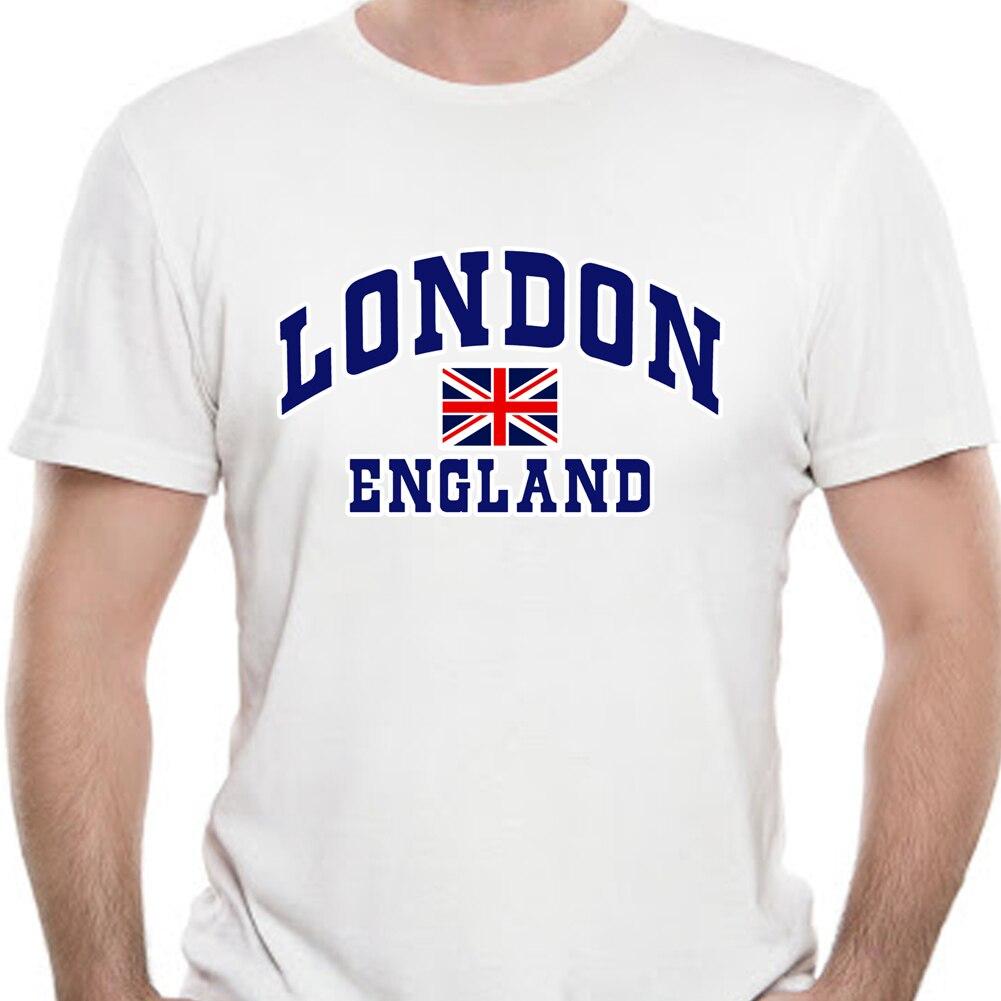 Camiseta con estampado de Londres e inglés para hombre y mujer de...