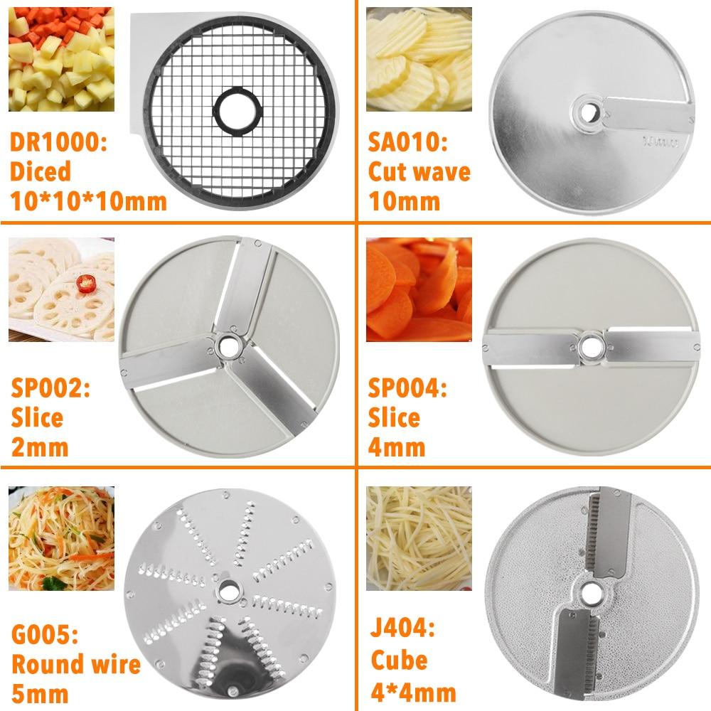Xeoleo آلة الخضار جزء آلة التكعيب التجاري البطاطس/أداة تقطيع الطماطم جزء الجبن التقطيع جزء أداة تقطيع الخضروات