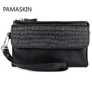 Women Genuine Leather Handbags Small Clutch Handbags and Purses Crossbody Bags for Women Clutch Purse Bags Female Phone Bags