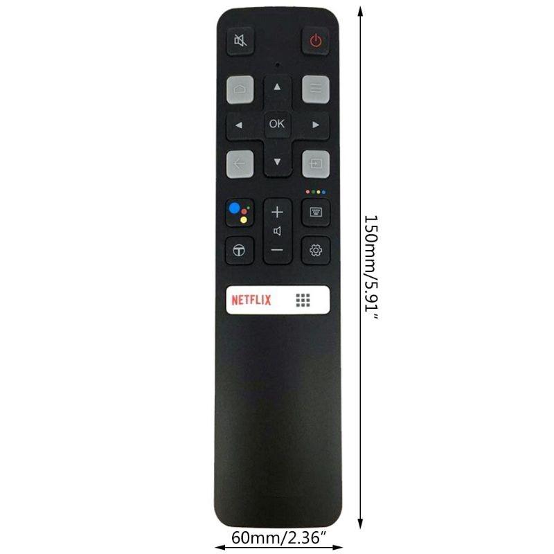 Stimme Fernbedienung Controller RC802V FMR1 Für TCL LCD TV 65P8S 55P8S 55EP680 G6DD