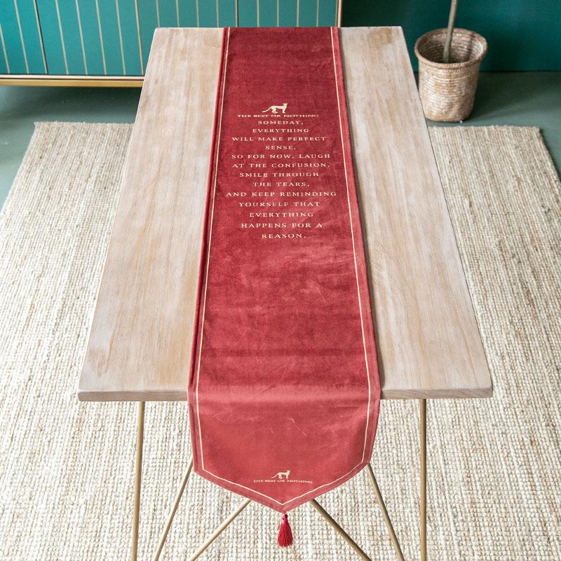 مفرش طاولة من الحرير والساتان بطراز أوروبي ، غطاء طاولة عصري ، فاخر ، راقي ، مع العلم