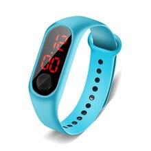 Mode femme montre intelligente 2020 numérique LED femmes montres Bracelet enfants Intelligence sport hommes horloge dames waches Reloj Uhr
