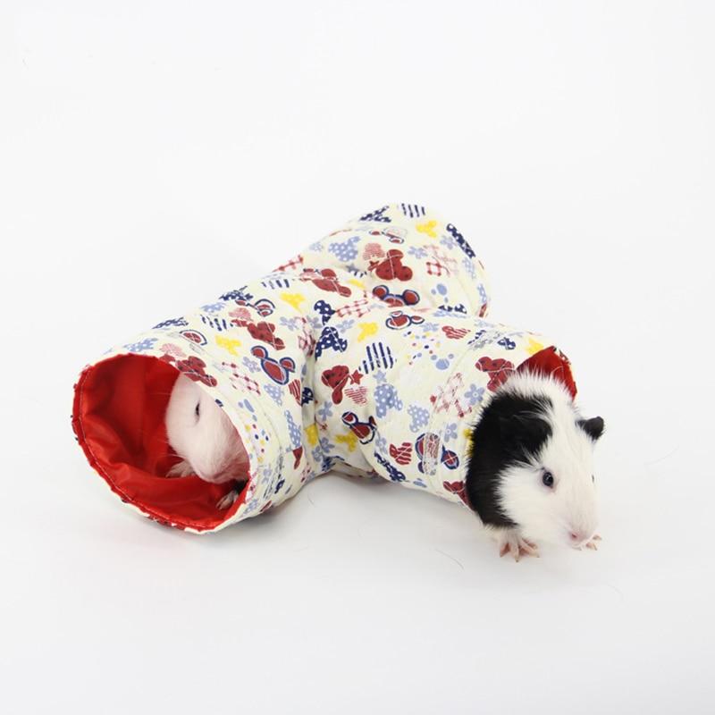 Мини-хомяк, морская свинка, туннельная игрушка, клетки для домашних животных, ежик, трубка, Шиншилла, дом, пещера, маленькие животные, товары для домашних животных, мышка для крыс, забавная игрушка