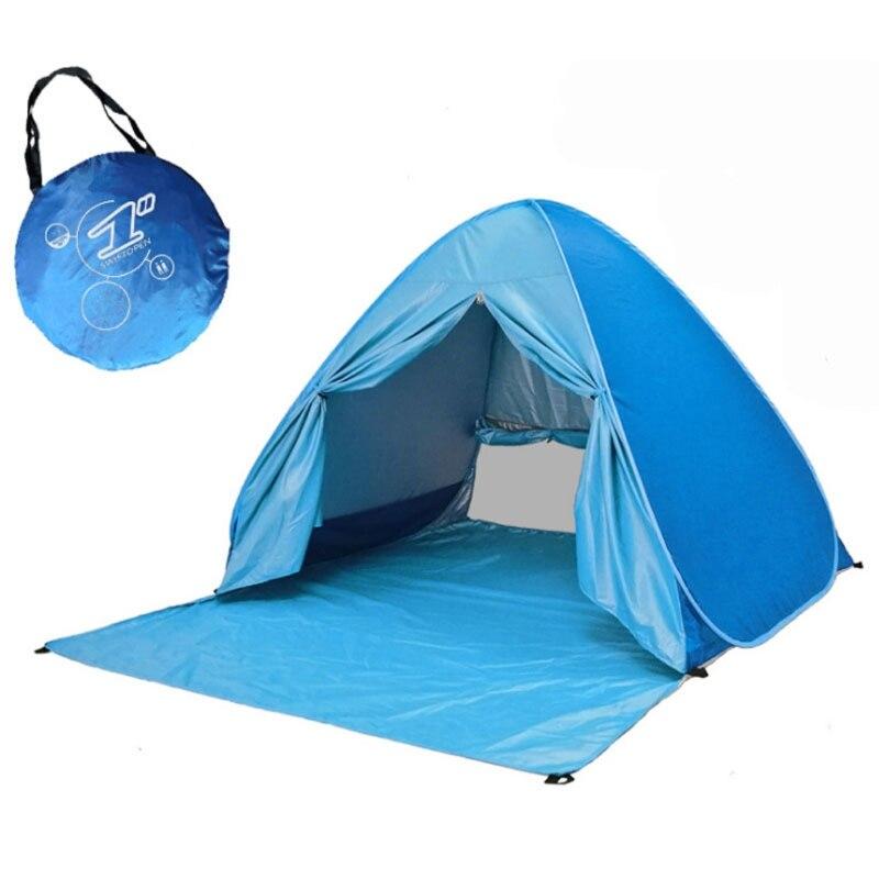 2021 обновленная Пляжная палатка, УФ солнцезащитное укрытие, легкие пляжные тенты, солнцезащитные пляжные тенты
