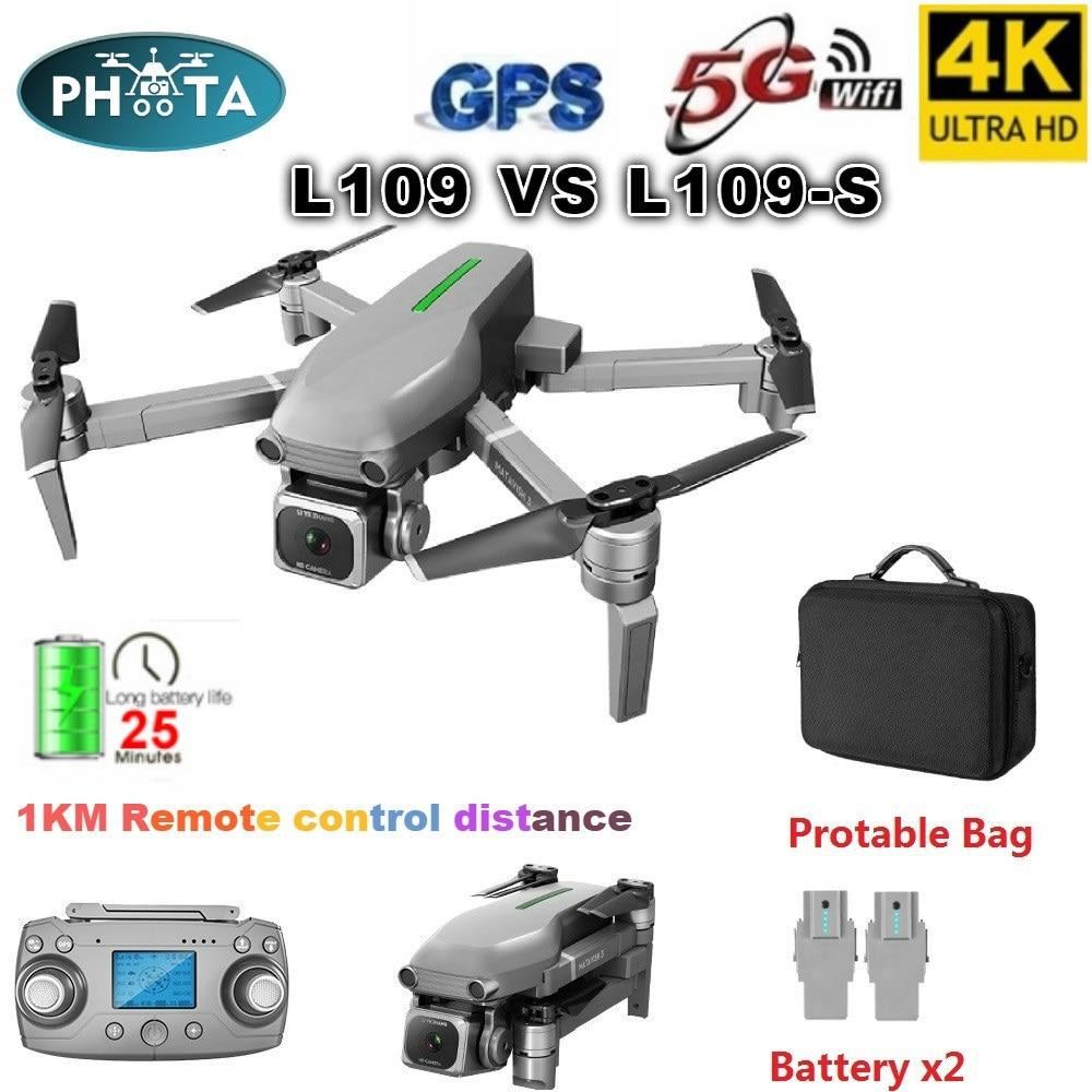 L109 GPS Drone 4K with Camera HD 5G WIFI quadcopter drone profissional quadrocopter seflie dron Mini drones 1KM long distance