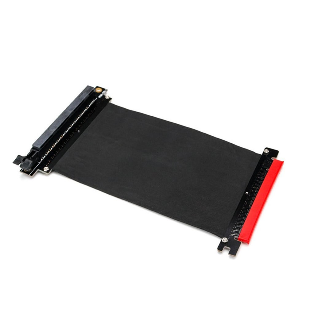 PCI Express High Speed 16x Flexible Cable Extension Port Adapter Riser Card High-quality Transmission Stability with 24cm Line