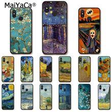 MaiYaCa Van Gogh Starry Night oil painting Phone Case for Xiaomi mi5 6 A1 A2 Lite Mi9 9SE mi8lite F1 Mix2 2S Max2 3