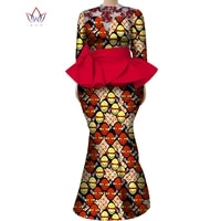 african clothes for women traditional plus full sleeve african clothes skirt set 2 pcs set women long skirt and top sexy wy8017