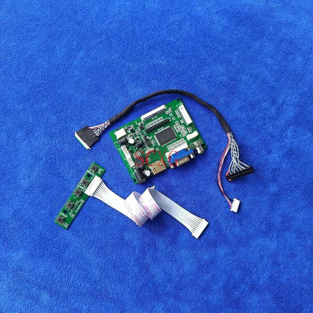 لوحة تناسب B133XW01/B133XW02 1366*768 60Hz WLED شاشات كريستال بلورية تحكم محرك مجلس LVDS 40 دبوس VGA AV HDMI-متوافق لتقوم بها بنفسك عدة