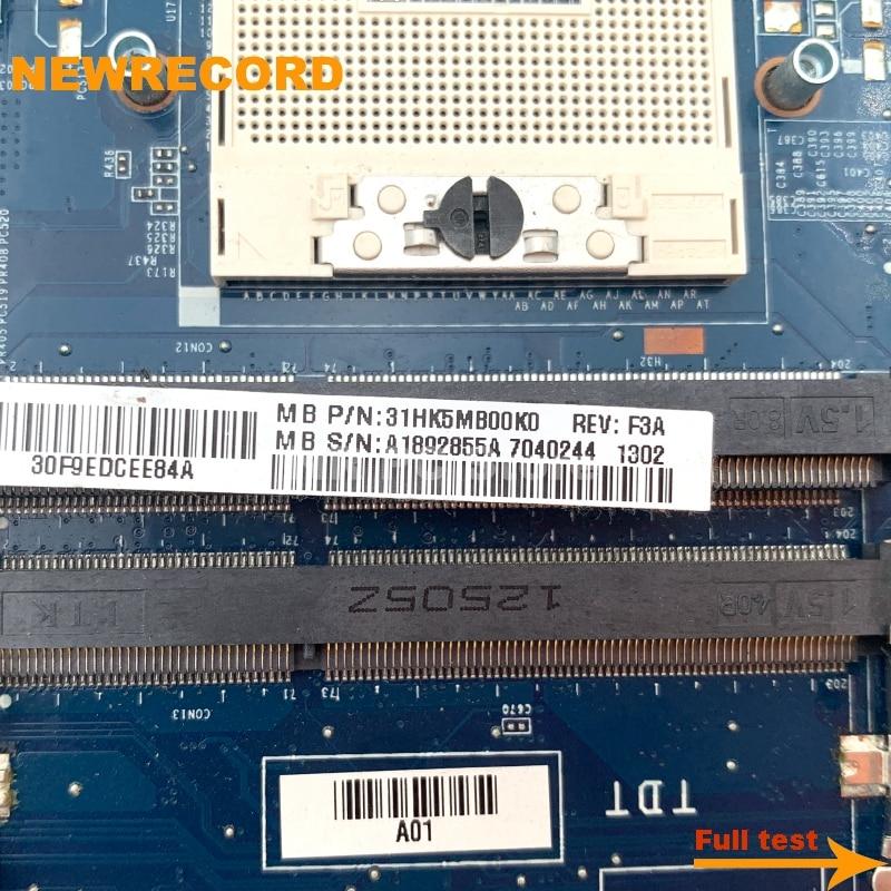 Купить с кэшбэком NEWRECORD For Sony SVE1512 MBX-269 Laptop Motherboard DA0HK5MB6F0 A1892854A A1892855A A1876098A A1876099A A1876100A with GPU