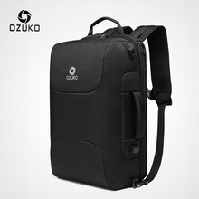 Рюкзак OZUKO мужской, водонепроницаемый, с usb-зарядкой, 15,6 дюйма, для ноутбука
