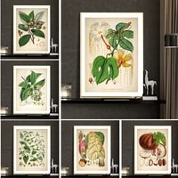modern pastoral plant poster vegetable and fruit print canvas painting wall picture decorative aesthetic art room cuadros