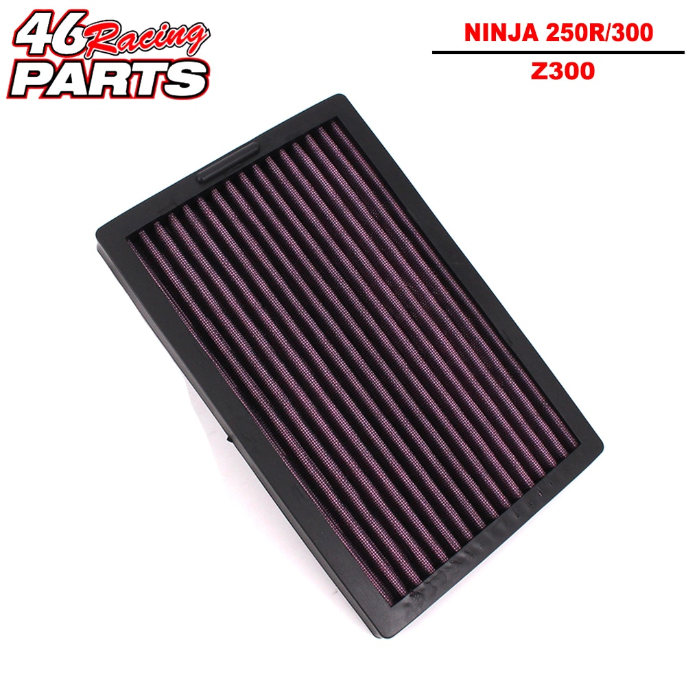 CK ganado rey Filtro de aire para motocicleta de alta calidad para KAWASAKI NINJA 250/250R/300 ABS Z300 Ninja250 Ninja250R Ninja300 EX300