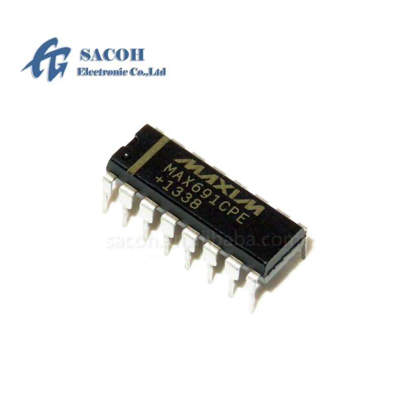 10 unids/lote nuevo original MAX691CPE MAX691EPE o MAX691CWE MAX691EWE o MAX691EJE MAX691MJE MAX691 DIP-16 microprocesador IC