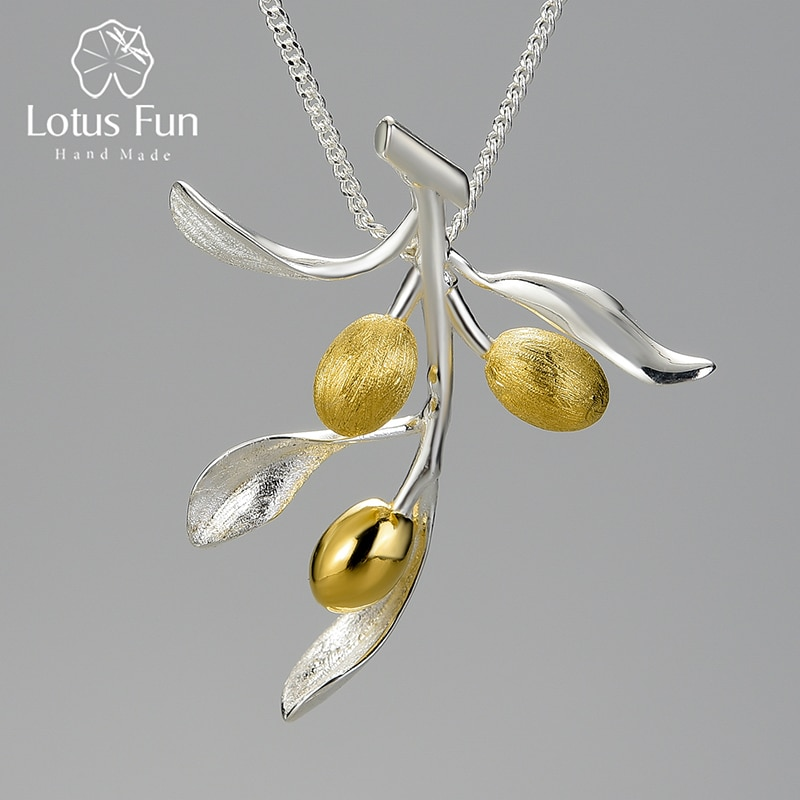 lotus-fun-luxury-olive-leaves-branch-fruits-pendant-fashion-real-925-sterling-silver-necklace-for-women-vintage-jewelry-2021-new