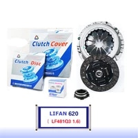 lf320020jl325 for lifan 620 lf481q3 1 6 original clutch disc clutch plate bearing clutch kit set three pcs set