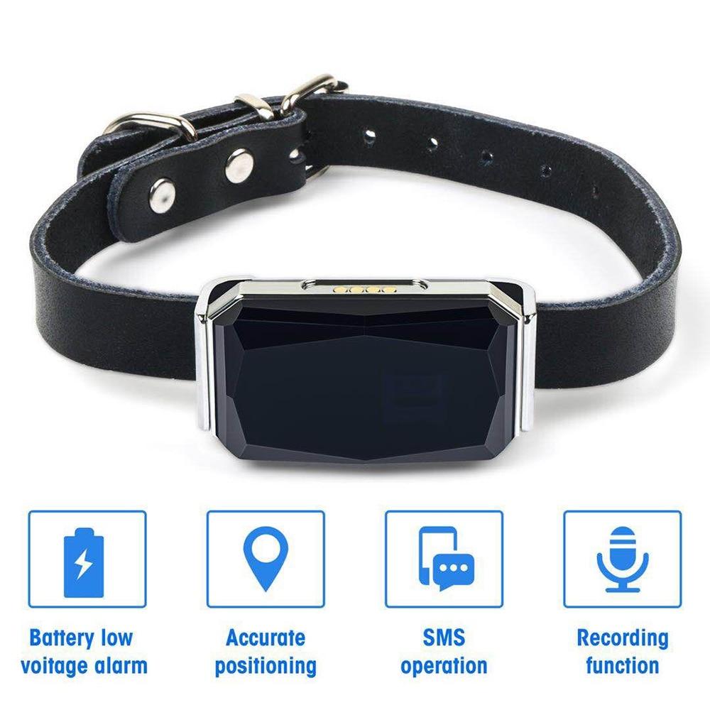 Pet GPS Tracker IP67 Waterproof Adjustable Gps Dog Collar Puppy Dog Cat Tracking Device Anti-Lost Dog Tracker Pet Accessories