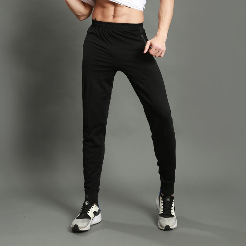 Sweatpants Men's Casual  Slim-Fitting Tie Footed Trousers, Fast-Drying Fitness Running Men Jogging  Sweat Pants rogue s loli with the tight fitting high footed sweatpants female autumn quick drying running ankle length yoga trousers