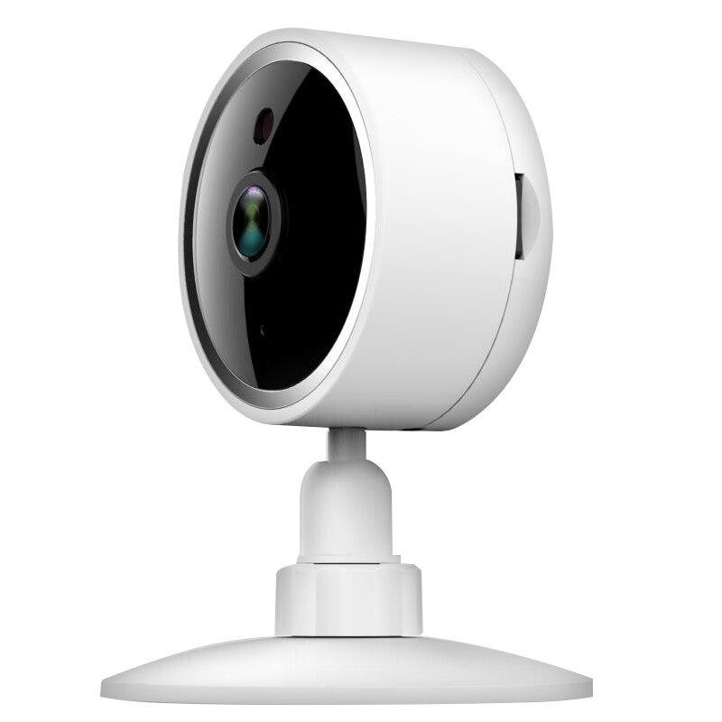 Tuya vida inteligente wifi 1080p ip câmera de vigilância câmera cctv plugue da ue