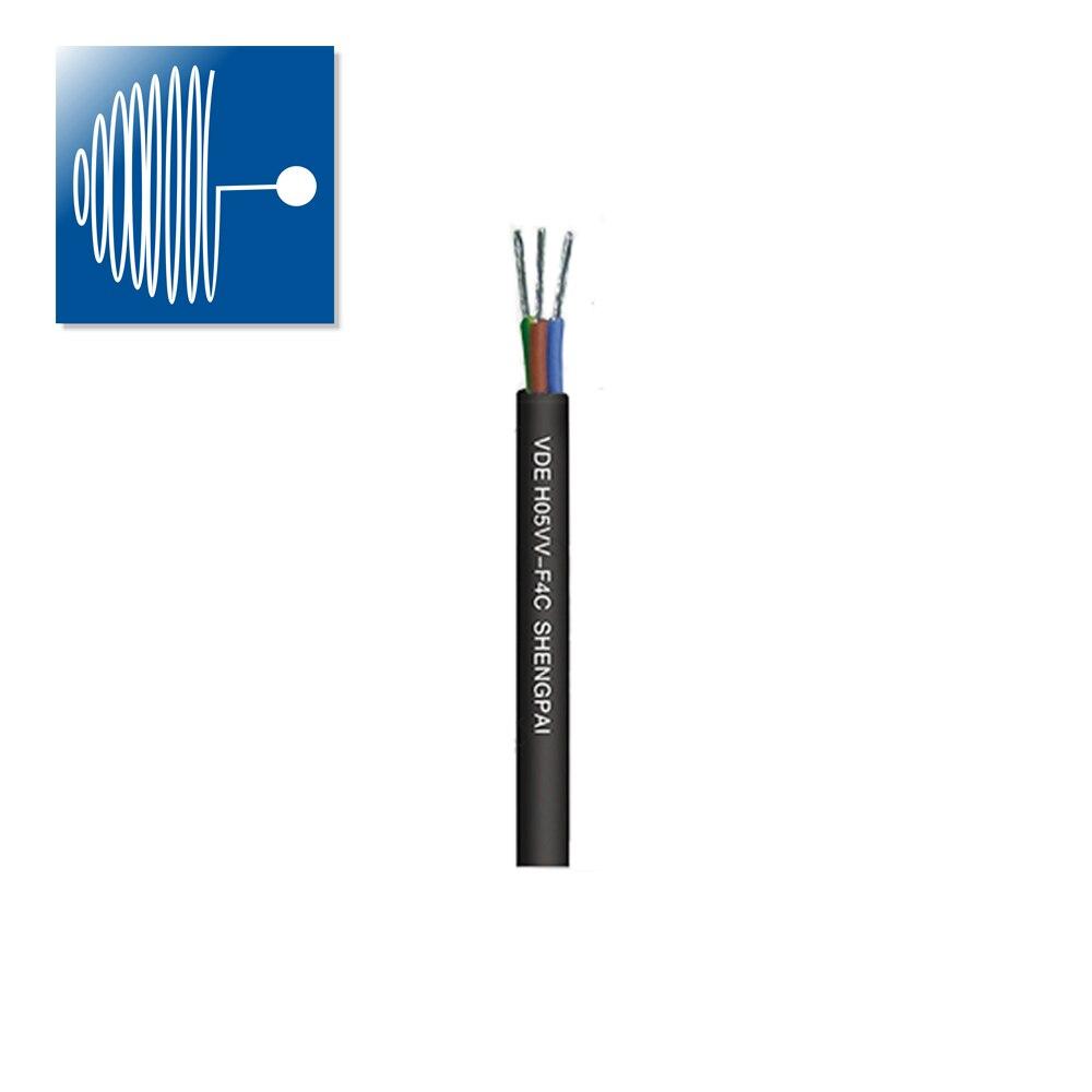 Cable de silicona blando resistente al calor longitud personalizada 2/5M 3X0.5/0,75/1,0/1,5/2,5/4,0 MM...