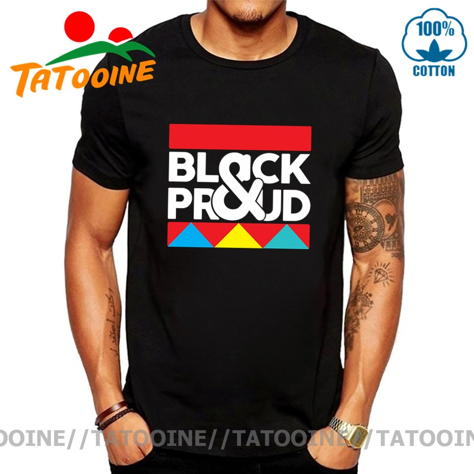 Camiseta Tatooine negra de demanda Popular para hombres, camiseta africana negra y...