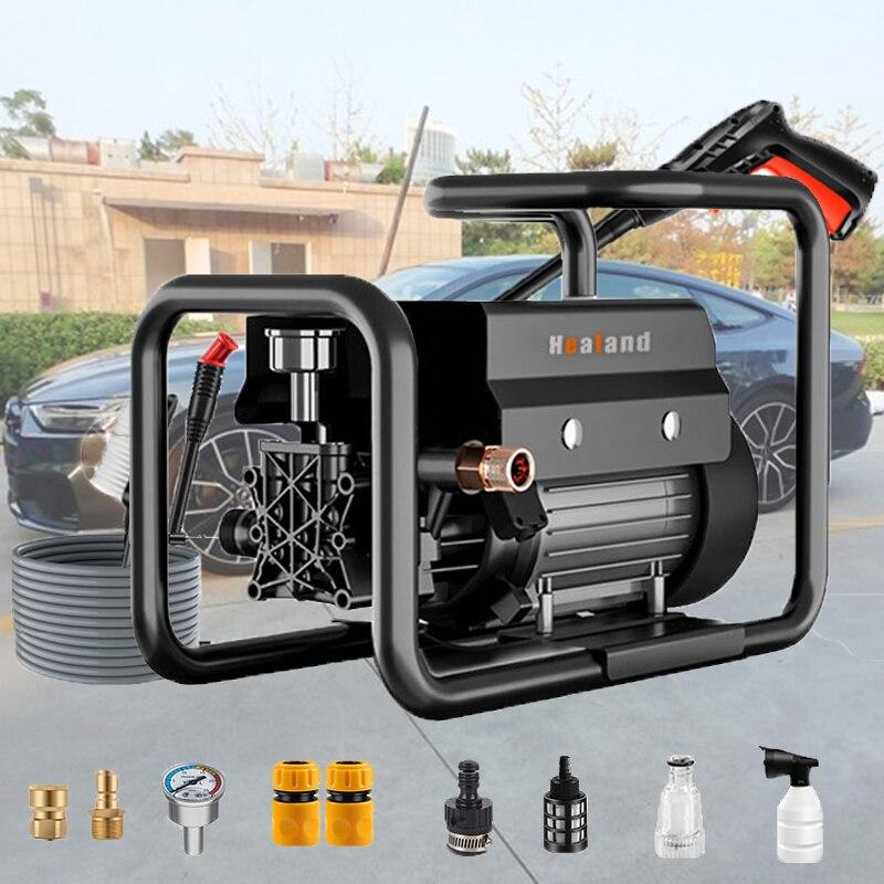 120bar High Pressure Electric Car Washer Pump 220V Household Cleaner Engine Sprayer Tornado for Parkside Car Wash Accessories