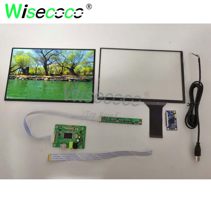 skylarpu 9 inch touch screen for at090tn10 hdmi vga digital lcd driver board with touch screen for raspberry pi free shipping 1920 *1200 10.1 inch  LCD Display Screen with capative touch panel  Driver Control Board   For Raspberry pi