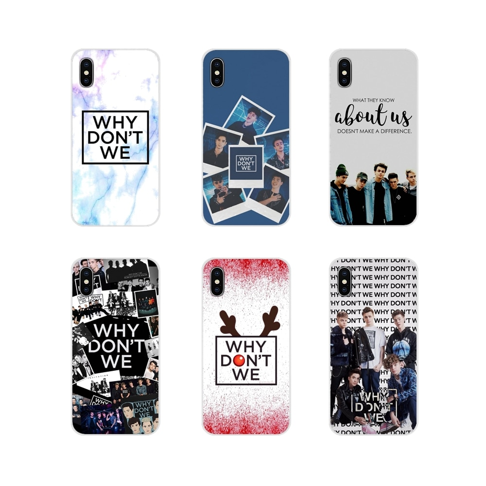 For Samsung Galaxy S2 S3 S4 S5 Mini S6 S7 Edge S8 S9 S10E Lite Plus Accessories Phone Shell Covers Why Dont Do Not We WDW