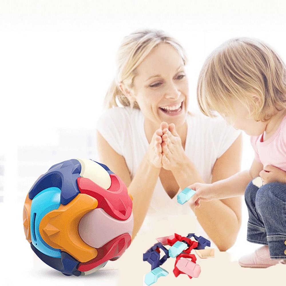 Детская сборка копилка для раннего развития разборка игрушечного мяча