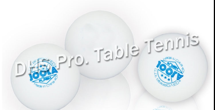 ITTF aprobado Joola 3 Star Tournament uso 40 + nuevo Material sin fisuras PP pelota de tenis de mesa/ping pong Ball 6 uds