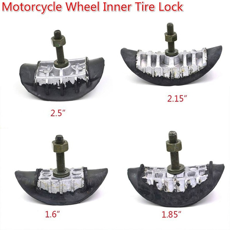 "Bicicleta da sujeira motocicleta 1.6 ""1.85"" 2.15 ""2.50"" tusk pneu aro bloqueio parafuso seguro"