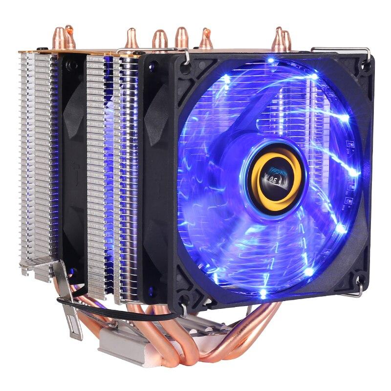 Ooler de Alta calidad 4 calor-tubos dual-torre de resfriamento 9 centímetros RGB...