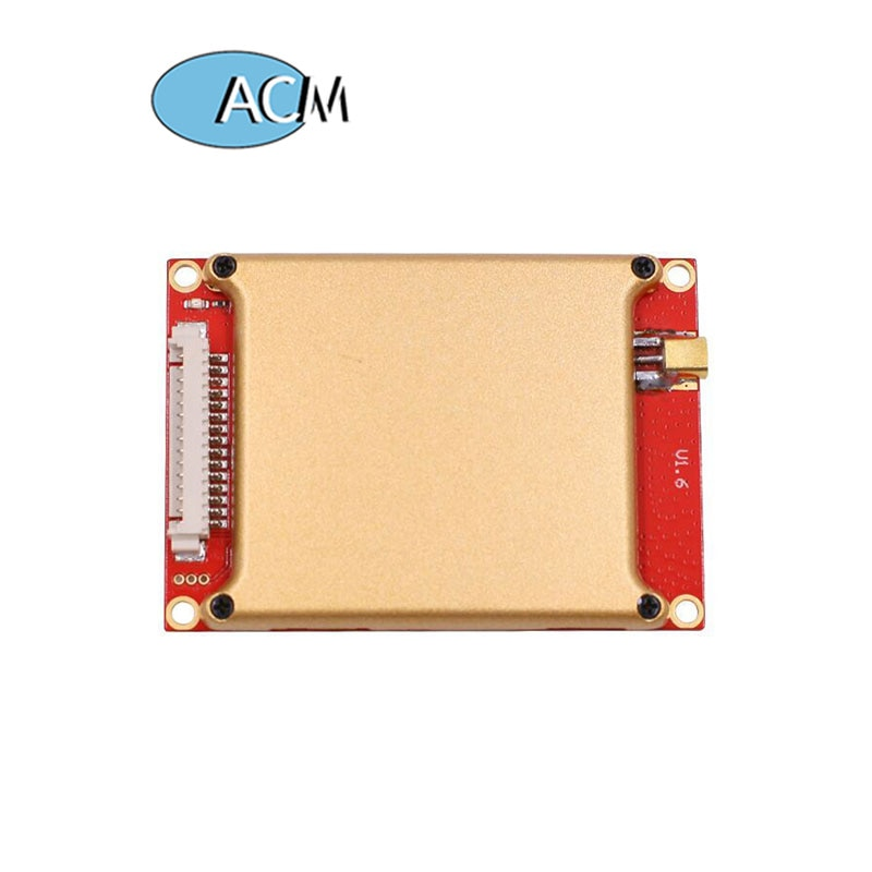 15m long range uhf rfid reader module 865 868mhz 902 928mhz with one antenna port used for timing system High Performance 25m Impinj R2000 Chip 4 Antenna Port Long Range 868Mhz UHF RFID Reader Module