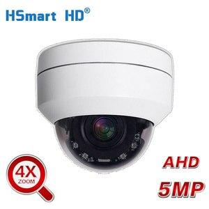 2.5'' Mini PTZ Camera 5X ZOOM 5MP AHD-TVI-CVI-CVBS Dome Security Camera IR Outdoor Surveillance Security Cameras