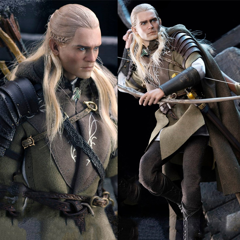 Asmus Toys 1/6 LOTR029 Male Elf Prince LEGOLAS AT HELMS DEEP Action Figure Model for Fans Holiday Gifts
