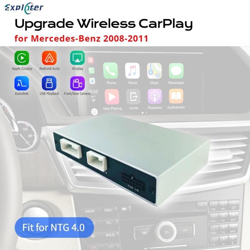 جهاز شحن لاسلكي من اكسبلوتر لفئة C (W204) E-Class (W212) GLK (X204) Mercedes Benz 2008-2011 NTG 4.0