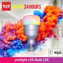 Nuova versione Yeelight 1SE 6W RGB Smart LED lampadina E27 controllo vocale Wireless supporto luce colorata Google Home Work con Mija App